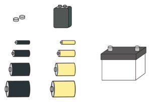 乾電池 アルカリ マンガン 違い