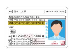 チャイルドシート 違反 ゴールド免許