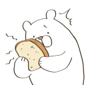 パン,カビ,食べられる