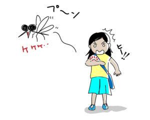 蚊,刺されない,方法